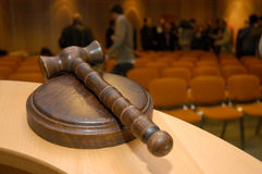 Judge´s gavel Stock Images
