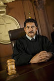 Judge In Courtroom Royalty Free Stock Images