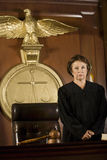 Judge In Courtroom Stock Photography