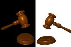Judge gavel Royalty Free Stock Photos