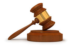 Judge gavel Royalty Free Stock Photography