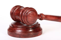 Judge gavel Stock Photography