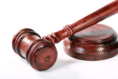 Judge gavel Royalty Free Stock Images