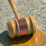 Judge gavel Stock Image