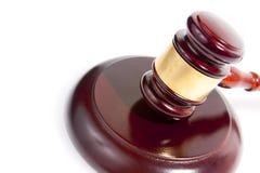 Judge gavel isolated on white Stock Images