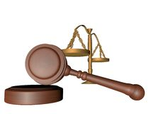 Judge gavel Stock Images