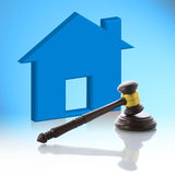 Judge gavel, Real Estate Auction Stock Photography