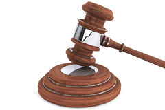 Judge gavel and sound block Stock Photography