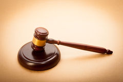 Judge Gavel and Soundboard Royalty Free Stock Photo