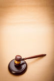 Judge Gavel and Soundboard Stock Images