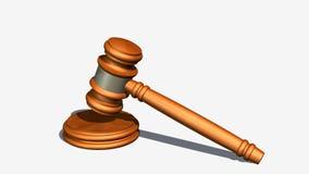 Judge gavel of wood Stock Photo