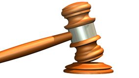 Judge gavel of wood Royalty Free Stock Images