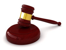 Judge hammer Stock Photography