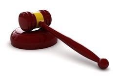 Judge hammer Royalty Free Stock Photography