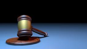 Judge Hammer. Illustation of a Judge Hammer made in 3D vector illustration