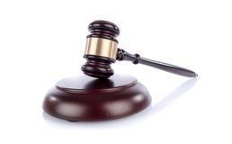 Judge hammer Stock Image