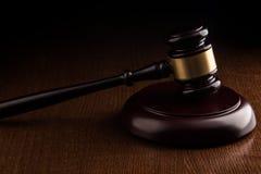 Judge hammer Royalty Free Stock Photos