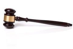 Judge hammer Stock Photo