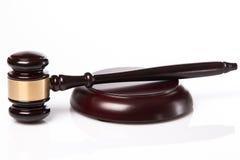 Judge hammer Royalty Free Stock Photo