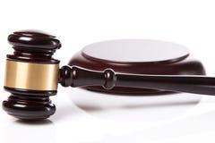 Judge hammer Royalty Free Stock Image
