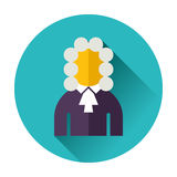 Judge icon Royalty Free Stock Photography