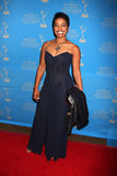 Judge Lynn Toler arriving at the 38th Annual Daytime Creative Arts & Entertainment Emmy Awards Stock Photos