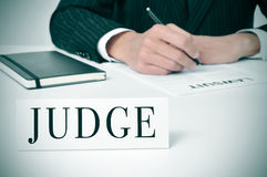 Judge Stock Image
