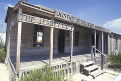 Judge Roy Bean Museum in Langtry, TX Royalty Free Stock Photo