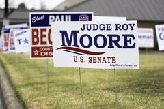 Judge Roy Moore Campaign Sign