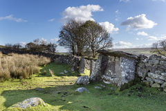 The Judge's Chair on Dartmoor Royalty Free Stock Photo