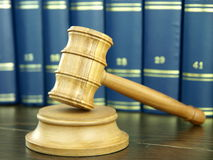 Judges Gavel Royalty Free Stock Photo