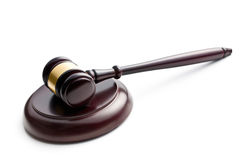 Judge's gavel Royalty Free Stock Image