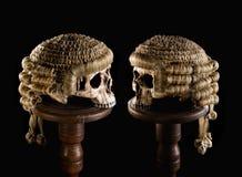 Judge's halloween Stock Image