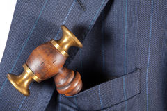Judge's hammer Royalty Free Stock Images