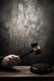 Judge's hammer Royalty Free Stock Photo