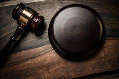 Judge's hammer Stock Photography