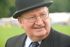 Judge at Thornton Le Dale Show. Stock Images