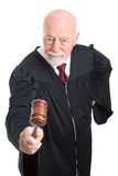 Judge in Wig - full body Royalty Free Stock Photos