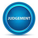 Judgement Eyeball Blue Round Button. Judgement Isolated on Eyeball Blue Round Button vector illustration