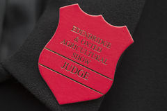 Judges badge Royalty Free Stock Images