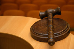 Judge´s gavel Stock Photos