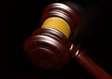 Judges gavel stock illustration