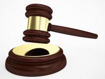 Judges gavel Royalty Free Stock Photo