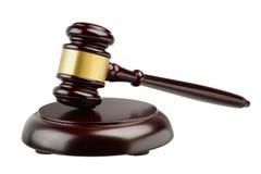Judges gavel isolated Stock Photos
