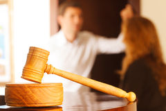 Judges Gavel Royalty Free Stock Image