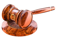 Judges gavel Stock Photography