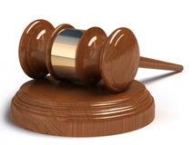 Judges hammer Royalty Free Stock Photos