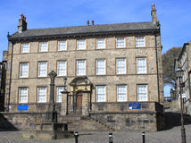 Judges Lodgings & Museum of Childhood, Lancaster. Judges Lodgings Town House and Museum of Childhood, Lancaster, Lancashire, England also with the Gillow Royalty Free Stock Photo