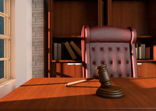 Judges office Royalty Free Stock Photography