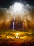 Judgment day Royalty Free Stock Photo